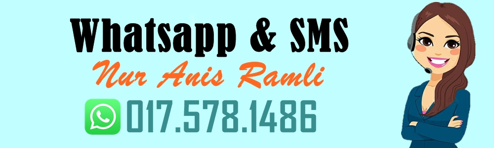 Whatsapp kami di 017-5781486